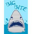 Big Bite Shark vector image vector image