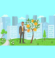 business startup concept flat vector image