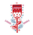 folk art ethnic style big collection vector image vector image