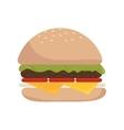 Hamburguer fast food burguer