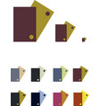 icons package vector image vector image