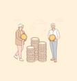 money business insurance deposit saving vector image vector image