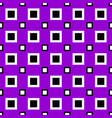 seamless abstract square pattern design vector image vector image