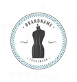 Set vintage retro mannequin shopping badges vector image vector image