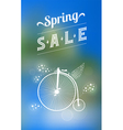 Spring sale banner 003 vector image vector image