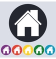Stock Linear icon house vector image