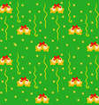 Green Xmas Wrapping vector image