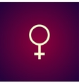 female sign icon vector image
