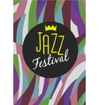 Retro Jazz festival Poster vector image
