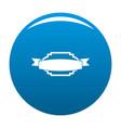 badge premium quality icon blue vector image vector image