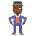 Bancrupt business man vector image vector image
