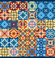 decorative tile mosaic vector image