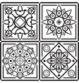 east ornament vector image vector image