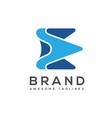 elegant best creative letter e logo vector image