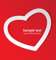 Love template vector image