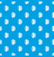 massage brush pattern seamless blue vector image vector image