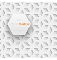 Abstract seamless geometric cube pattern with vector image