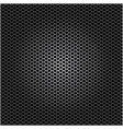 metallic grill perforated background design vector image
