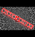 abstract - black friday sale - background vector image vector image