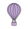 balloon air hot icon vector image vector image