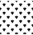 brilliant gemstone pattern vector image vector image
