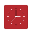 clock face icon vector image