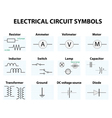 Electronic symbol vector image vector image