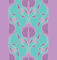 floral pattern for textile vector image