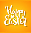 Happy Easter phrase vector image