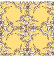 renaissance seamless ornament vector image vector image