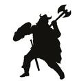 Viking Warriors Theme vector image