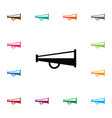 isolated alert icon bullhorn element can vector image vector image
