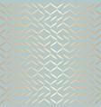 seamless geometric golden element pattern vector image vector image