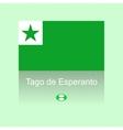 Esperanto day vector image vector image
