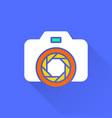 photo - icon vector image vector image