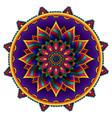traditional diwali rangoli art mandala design vector image vector image