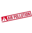 Air Pollution rubber stamp vector image vector image
