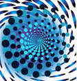 blue trippy abstract background vector image