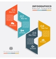 Design template with place for your data vector image vector image