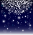 new year eve christmas background the curtain vector image vector image