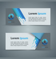 paper banner - business infographic vector image