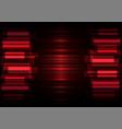 red speed bar overlap in dark background vector image vector image