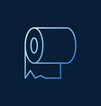 toilet paper modern colorful concept vector image