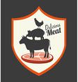 butchery house vector image vector image