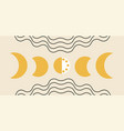 phases moon concept vector image