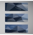 polygon stown set banner 60913 vector image vector image