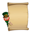 St Patrick Papyrus vector image vector image
