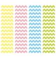 Zig zag pastel chevron tile pattern set vector image vector image