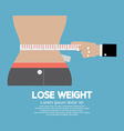Lose Weight Concept vector image