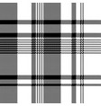 black white fabric texture pixel asymmetrical vector image vector image